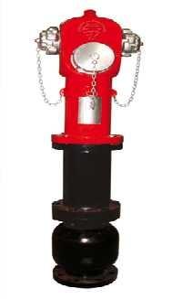 22 - Hidrante con forma de columna