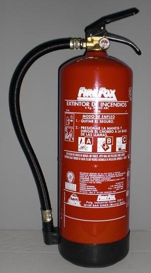 6kg ALTA EFICACIA - Extintor 6kg Alta eficacia