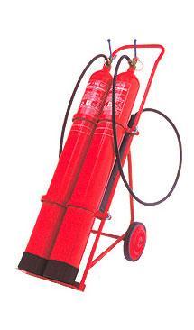 CARRO BIBOTELLA 10 KG - Extintor co2 20Kg