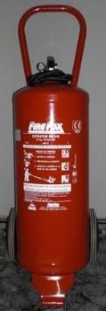 CARRO DE 25 KG - Extintor carro polvo 25kg