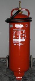 CARRO DE 50 KG - Extintor carro polvo 50Kg
