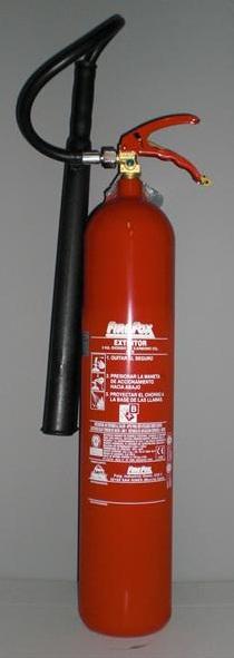 CO2 5KG - Extintor co2 5kg