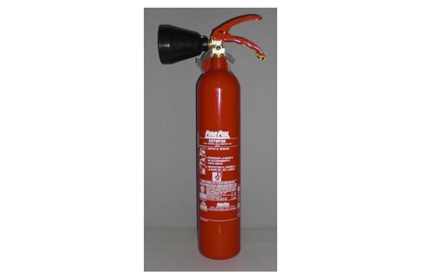 Extintor CO2de 2 Kg - Extintor CO2de 2 Kg
