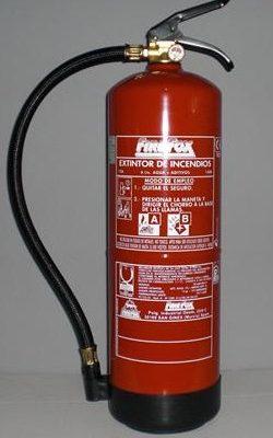 HIDRICO 6L 250x400 - Extintor hídrico 6l