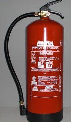 HIDRICO 9L 233x400 - Extintor hídrico 9l