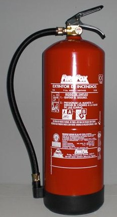 HIDRICO 9L - Extintor hídrico 9l