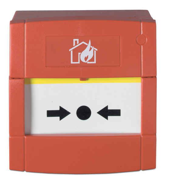 dmn700 - Pulsador de alarma manual de superficie exterior