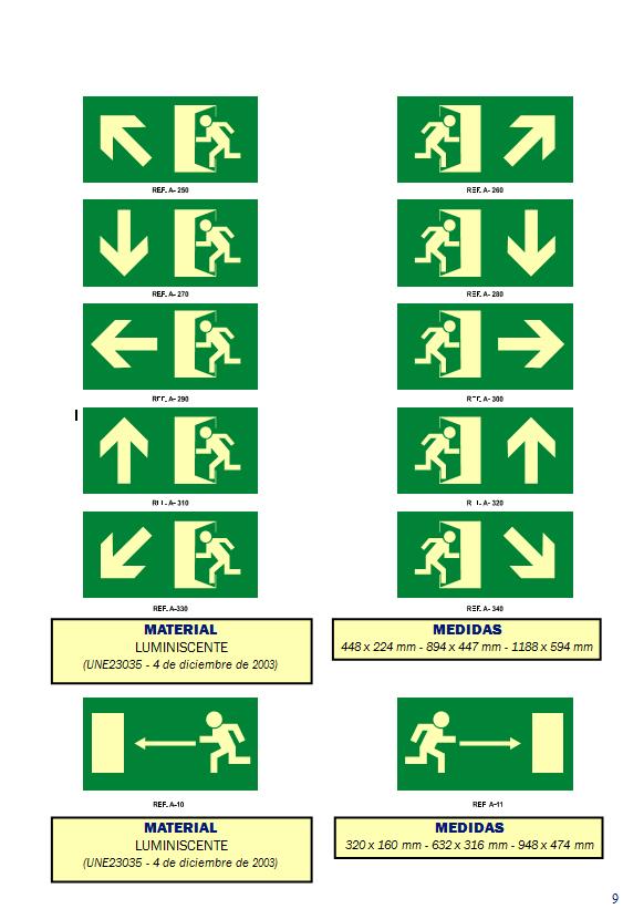 evacuacion 6 - Señales de evacuación