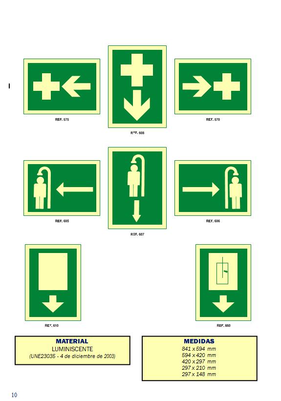 evacuacion 7 - Señales de evacuación