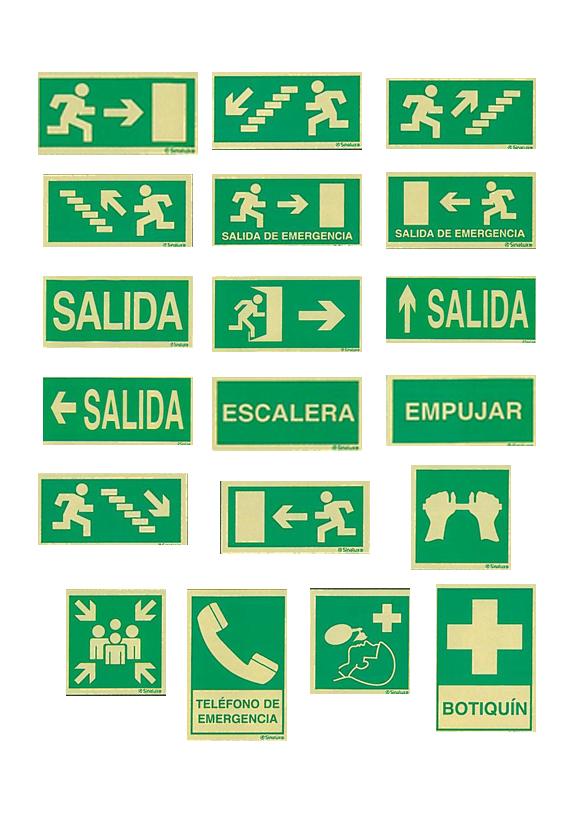 evacuacion 8 - Señales de evacuación