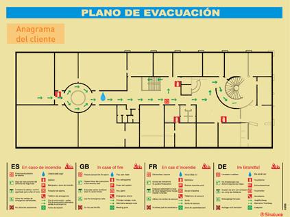 evacuacion1 - Planos de evacuación