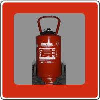 Extintores carro de polvo